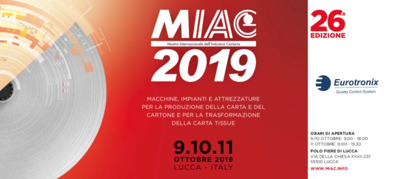 Eurotronix srl al MIAC 2019